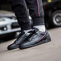 Мужские кроссовки Adidas Continental 80 Core Black / Scarlet / Collegiate Navy G27707, Адидас Континентал, фото 3