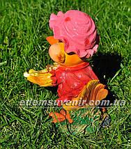 Садовая фигура Цыпа скрипач, фото 3