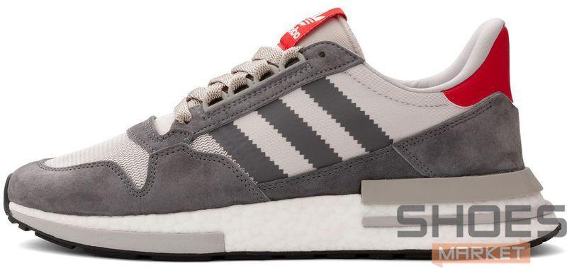 Мужские кроссовки Adidas ZX 500 RM Grey Mult B42204, Адидас ЗХ