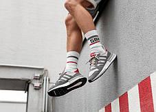 Мужские кроссовки Adidas ZX 500 RM Grey Mult B42204, Адидас ЗХ, фото 2