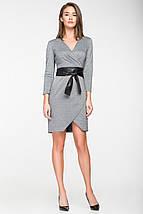 Женское трикотажное платье с имитацией запаха(5116 ie), фото 2