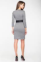 Женское трикотажное платье с имитацией запаха(5116 ie), фото 3
