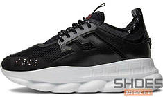 Мужские кроссовки Versace X 2Chainz Chain Reaction 2 Black