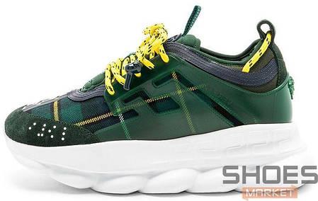 f11f5f7281a7 Мужские кроссовки Versace X 2Chainz Chain Reaction 2 Green купить в ...
