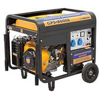 Генератор SADKO GPS-8000E (6,0 кВт, бензин, электростартер) Бесплатная доставка