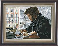 Набор для вышивки нитками на канве Люблю тебя,Петра творенье... КИТ 10912