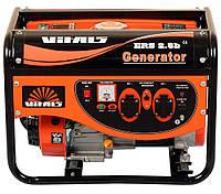 Генератор бензиновый Vitals ERS 2,8b (2,8 кВт, ручной стартер) Бесплатная доставка, фото 1