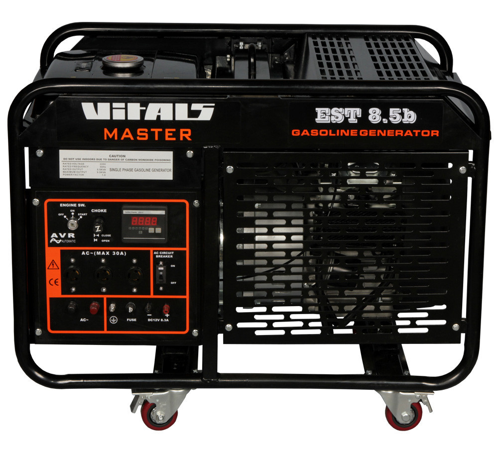 Генератор бензиновый Vitals Master EST 8.5b (8,5 кВт, электростартер) Бесплатная доставка