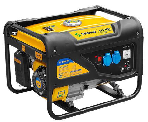 Бензогенерато Садко GPS-2600 (2,0 кВт, бензин, ручной стартер) Бесплатная доставка