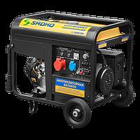 Генератор SADKO GPS-8500EF (7,0 кВт, бензин,3 фазы электростартер) Бесплатная доставка