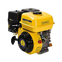 Двигатель бензиновый Садко GE-200  (6,5 л.с., ручной стартер, шпонка Ø19мм, L=58мм) + доставка