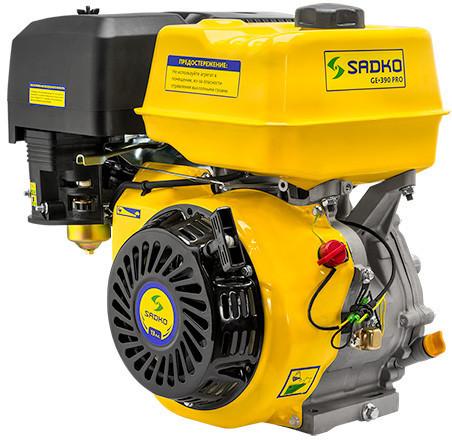 Двигатель бензиновый Садко GE-390   (13,0 л.с., шпонка Ø25,5мм, L=72мм) Доставка бесплатно!
