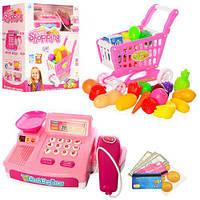 Игровой набор Магазин с тележкой и продуктами CF8609