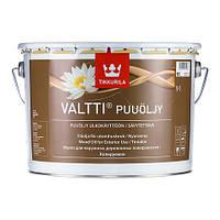 Масло для защиты древесины от влаги, грязи и растрескивания VALTTI EC 0,9 л