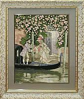 Набор для вышивки нитками на канве Венецианские мотивы КИТ 20812