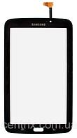 Тачскрин (сенсор) для Samsung T210 Galaxy Tab 3 7.0, T2100, P3200, (версия Wi-fi), черный, оригинал