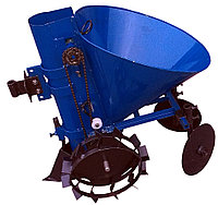 Картофелесажатель мотоблочный Кентавр  К-1Ц (синий) Бесплатная доставка