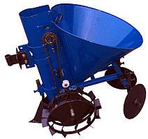 Картофелесажатель мотоблочный Кентавр ДО-1Ц (синій) Безкоштовна доставка