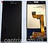 Дисплей (экран) для Sony E2303 Xperia M4 Aqua, E2306, E2312, E2333, E2353, E2363 + тачскрин, черный, оригинал