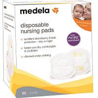 Одноразовые прокладки для бюстгальтера Medela Disposable Nursing Pads, 60шт. NEW