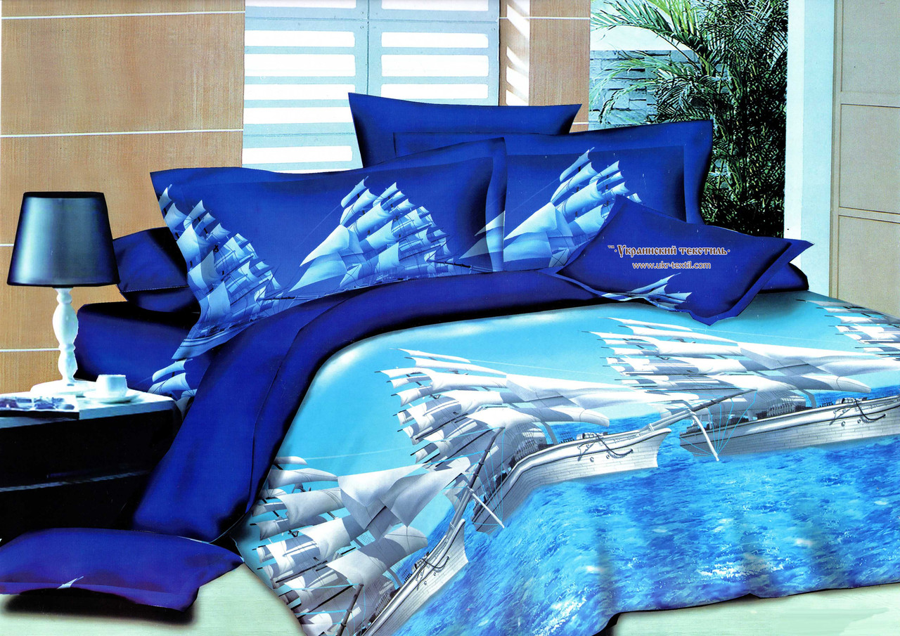 Комплект постельного белья Белые паруса