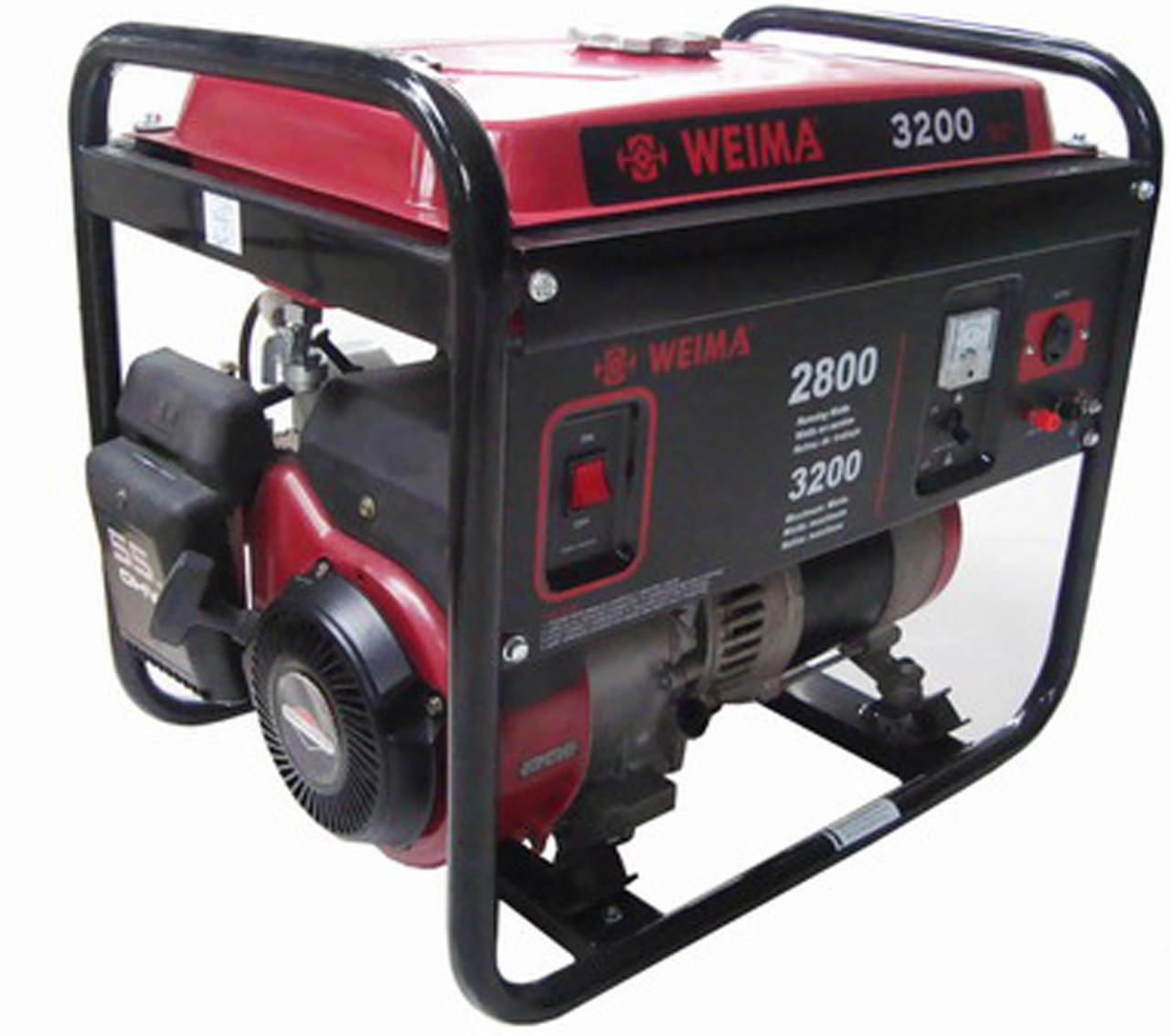 Генератор бензиновый WEIMA WM3200 (3,2 кВт) Бесплатная доставка
