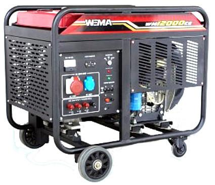 Генератор дизельный WEIMA WM12000CE1 (12 кВт, 1 фаза) Бесплатная доставка