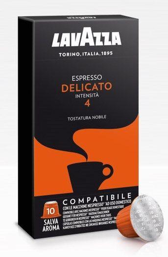 Nespresso капсулы Lavazza Delicato 4, Италия Неспрессо кофе