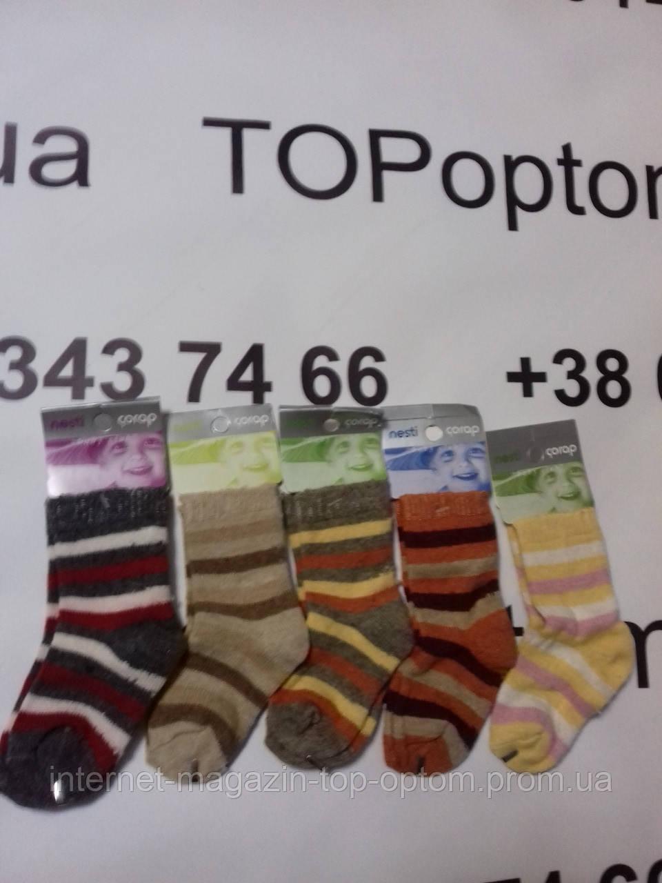Шкарпетки дитячі шерстяні Nesti