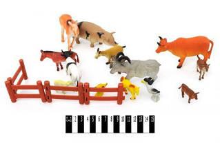 Набор домашних животных (15 фигурок)