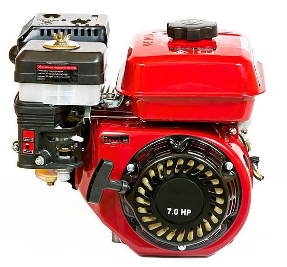 Двигатель для мотопомп WEIMA WM170F (7 л.с., резьба Ø19,05мм, L=6+ доставка