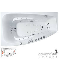 Гидромассажные ванны Balteco Гидромассажная ванна Balteco Orion SlimLine S11 с системой управления EasyTouch правосторонняя