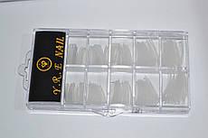 Типсы для наращивания ногтей Прозрачные, 100 шт