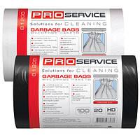 Пакеты для мусора PRO Service 20л/100шт. Черные
