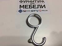 Крепеж 25 мм Крючок для трубы несъемный