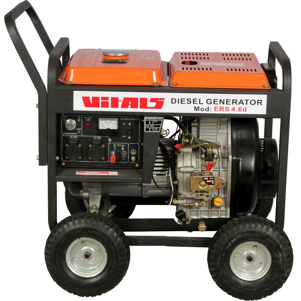 Генератор дизельный Vitals ERS 4.6d (5,0 кВт) (Бесплатная доставка)