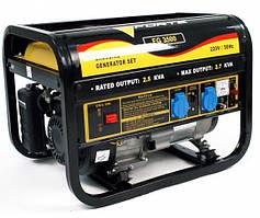 Генератор бензиновый Forte FG3500 (2.5 кВт, ручной стартер) Бесплатная доставка