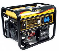 Генератор бензиновый Forte FG8000Е (6,0 кВт, электростартер,) Бесплатная доставка