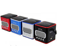 Портативная колонка с радио WSTER WS-215 с MP3, USB и FM-pадио