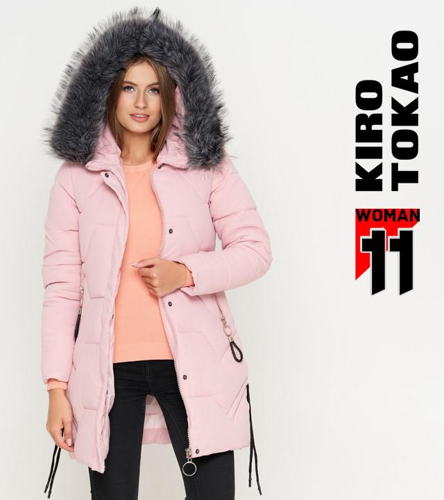 Киро Токао 6372   Женская Куртка Зимняя Пудра — в Категории