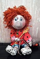 Текстильная кукла «Домовичок». Ручная работа.