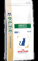 Royal Canin obesity management  диета для кошек с избыточным весом - 400 г