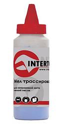Мел трассировочный 115г синий Intertool MT-0005