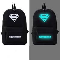Рюкзак молодежный светящийся Superman