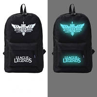 Рюкзак молодежный светящийся League Legends (реплика)