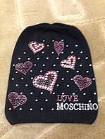 Шапка женская Moschino .