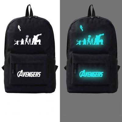 Рюкзак молодежный светящийся Avengers