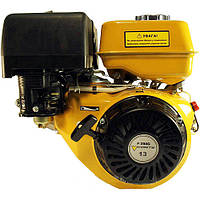 Двигатель бензиновый Forte F188 (13 л.с., электростартер, шпонка Ø25мм) Бесплатная доставка !