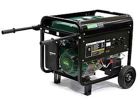 Генератор бензиновый IRON ANGEL  EG5500E  (5,2 кВт, электростартер) Бесплатная доставка
