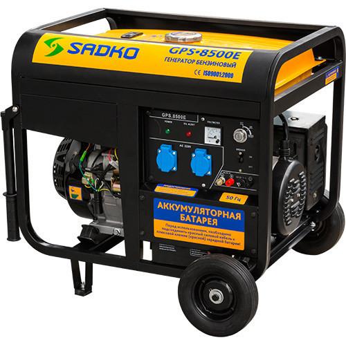 Генератор SADKO GPS-8500E ATS (7,0 кВт, бензин, автоматический пуск)